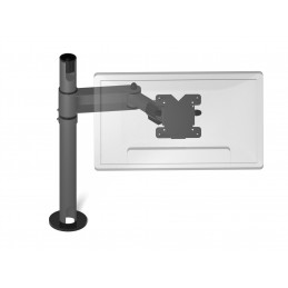 Flexible VESA monitor holder